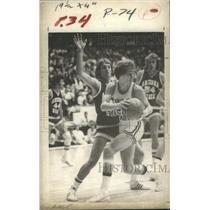 1980 Press Photo Daniel Ray Danny Ainge Boston Celtics Portland Trail Blazers