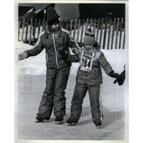 1927 Press Photo Kristine Kelly another Winter Olympics - RRX35651