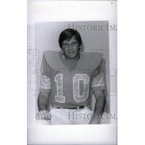 1977 Press Photo Chuck Ramsy Football Player - RRX38653