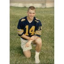 Press Photo Scott Mutryn Quarterback Patriots - RRX39819