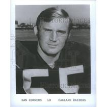 1975 Press Photo Dan Conners Oakland Raiders - RSC26079