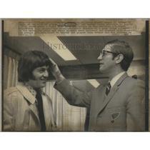 1971 Press Photo John Arbour Hockey St. Louis Blues - RSC28385
