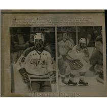 1972 Press Photo Winger Mike Marson Washington Capitals - RRX08751