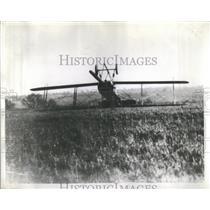 1940 Press Photo British Avro fighter crashed landed - RSC09299