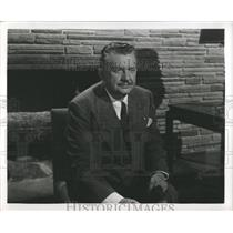 1949 Press Photo Danish Born Actor Jean Hersholt - RRX97789