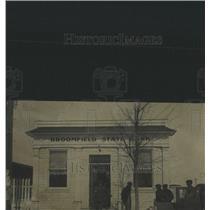1929 Press Photo Broomfield State Bank, Colorado. - RRX82163