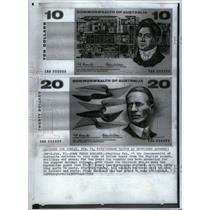 1966 Press Photo Australian Money Changes - RRX58705