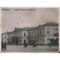1920 Press Photo Main railroad station, Poland. - RSC86545