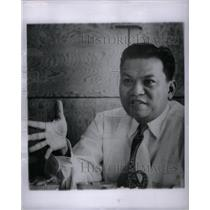 1953 Press Photo Philippines Pres Candidate Magsaysay - RRX30801
