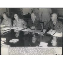 1943 Press Photo War Planners Combined Chief Washington- RSA49273