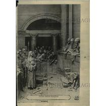 1918 Press Photo Dams triennial Christ Calaphas Scenes - RRX72813