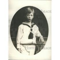 1914 Press Photo the Crown Prince Leopold of Belgium- RSA67611