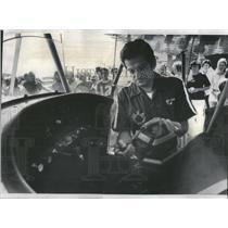 1976 Press Photo Louis Seno, President of Seno Formal Wear and son of the founde