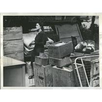 1932 Press Photo Mrs. Infanta McKillop 6yr old triplets - RRV52405