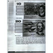 1966 Press Photo Australian Dollar/Money/Shilling/Pence - RRX58707