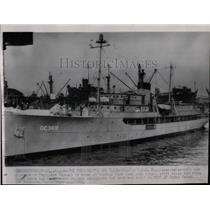 1945 Press Photo The U.S.S. Williamsburg - RRX63839