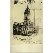 1924 Press Photo A Building In Atlanta, Georgia - RRW72649
