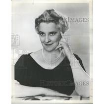 1956 Press Photo Ruth Draper- RSA26533