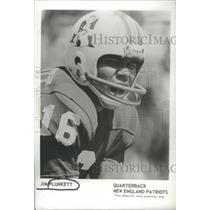 1973 Press Photo Jim Plunkett New England Patriots Football Player - RSC26273