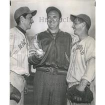 1950 Press Photo Maury Friedman Gene Napolitano Joe Borak - RSC29403