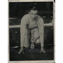 1929 Press Photo Perry Lamar Williams New York Giants - RRW81499
