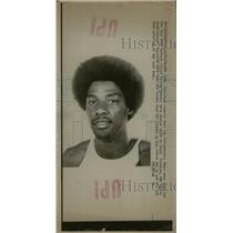 1976 Press Photo Julia Irving Philadelphia 76ers Simon - RRW80653