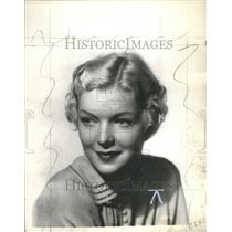 1935 Press Photo Verna Hillie American Actress Film - RRU06513