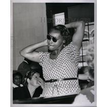 1953 Press Photo Alma Ross, Civil Rights Congress - RRX37861