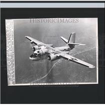 1962 Press Photo Navy Anti-Submarine Tracking Plane - RRX99001