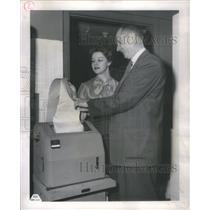 1967 Press Photo Sandra Lee winner title Illinois branch Air Force Association