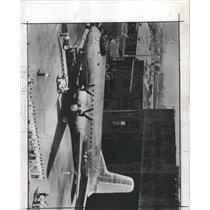 1945 Press Photo Largest Land Plane C-74 Globemaster - RRX93443