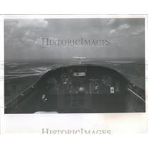 1964 Press Photo Cockpit Airplane - RRX84031