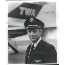 1979 Press Photo Captain Salvatore Fallucco Trans World Airlines Pilot
