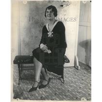 1928 Press Photo Patricia Lawlor Hayes English Actress - RRV21513