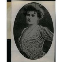 1907 Press Photo Elinor Glyn British Novelist Scripter - RRU25227