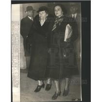 1937 Press Photo MAGDA DE FONTANGES JOURNALIST ACTRESS GERMAN SPY - RSC60319