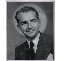 1946 Press Photo Harold E Wright United Air Lines - RRX57765