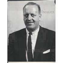 1959 Press Photo Lynn Patrick Boston Bruins Hockey - RSH36259
