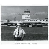 1969 Press Photo Manager Pinellas International Airport - XXB09017