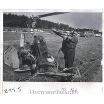 1973 Press Photo Smokey Castner and Gyrocopter - RSH09123
