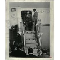 1974 Press Photo State kissinger Secretary jet equipped - RRX34787