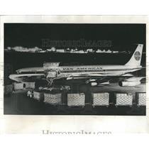 1963 Press Photo Pan American Freighter - RRW52091