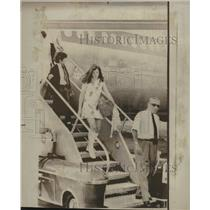1970 Press Photo Kennedy Children Carline John Athens - RRV15223
