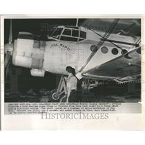 1964 Press Photo Monroe County Cuba Pilot Plane Florida - RRV41415