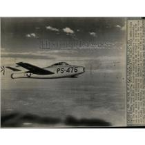 1946 Press Photo E-84 Jet Fighter Republic Thunderjet - RRW56667