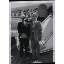 1937 Press Photo Kansas City Airport Inspection Men - RRX47783