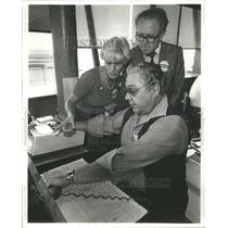 1980 Press Photo Tove Mommer Chicago Airlines - RRU80535