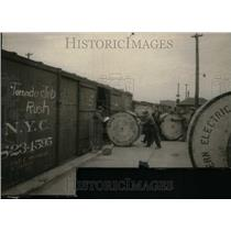 1925 Press Photo Western Electric Workers 1925 Tornado - RRU19545