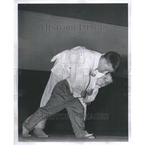 1962 Press Photo Randy Cooper Jimming Cooper Judo Fight - RRU11841