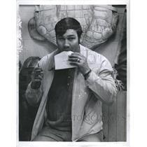 1971 Press Photo John Bucyk Boston Bruins - RSH36251